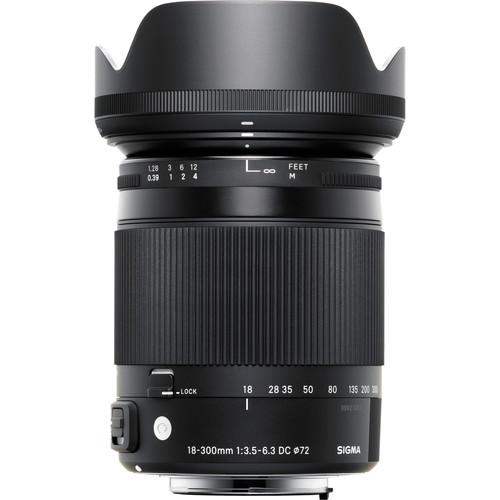 Sigma 18-300 F3.5-6.3 DC Macro OS HSM  C