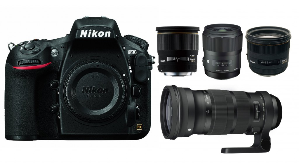 best sigma lenses for nikon D810