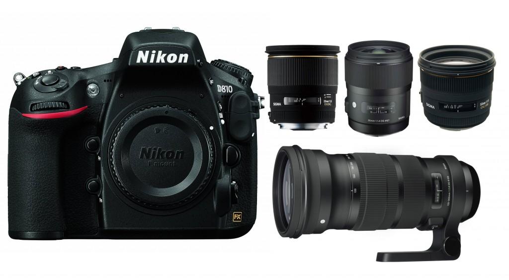 Best Sigma Lenses For Nikon D800, D800E, D810 | Lens Rumors
