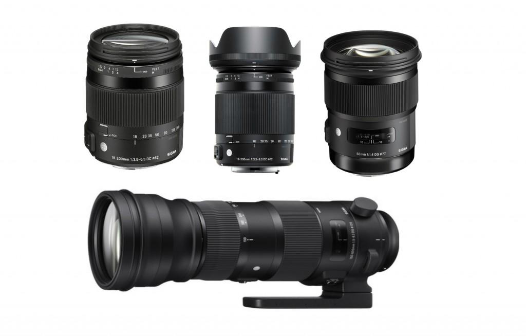 sigma lenses 2014