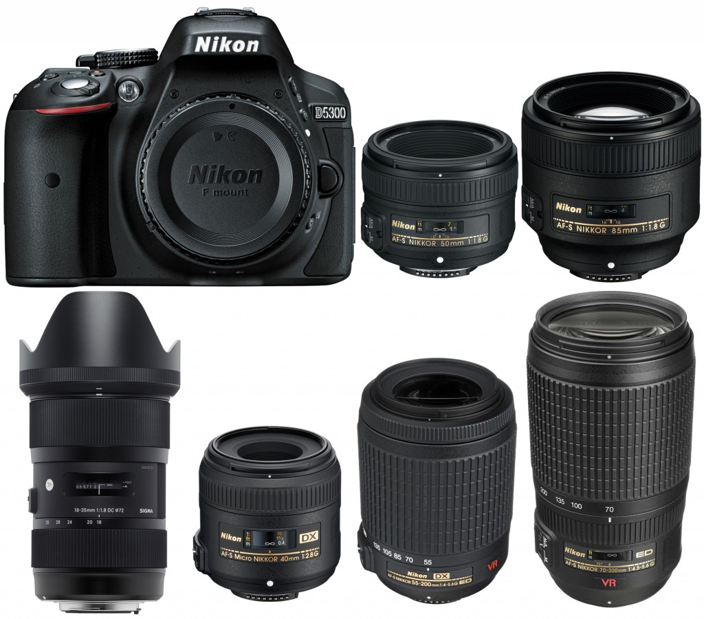 Best lenses for nikon D5300
