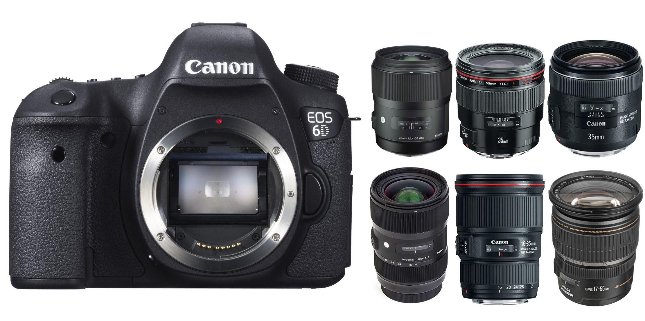 Best Wide-angle Lenses for Canon EOS 6D | Lens Rumors