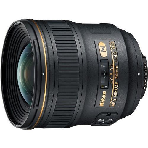 Nikon AF-S 24mm f1.4 ED lens