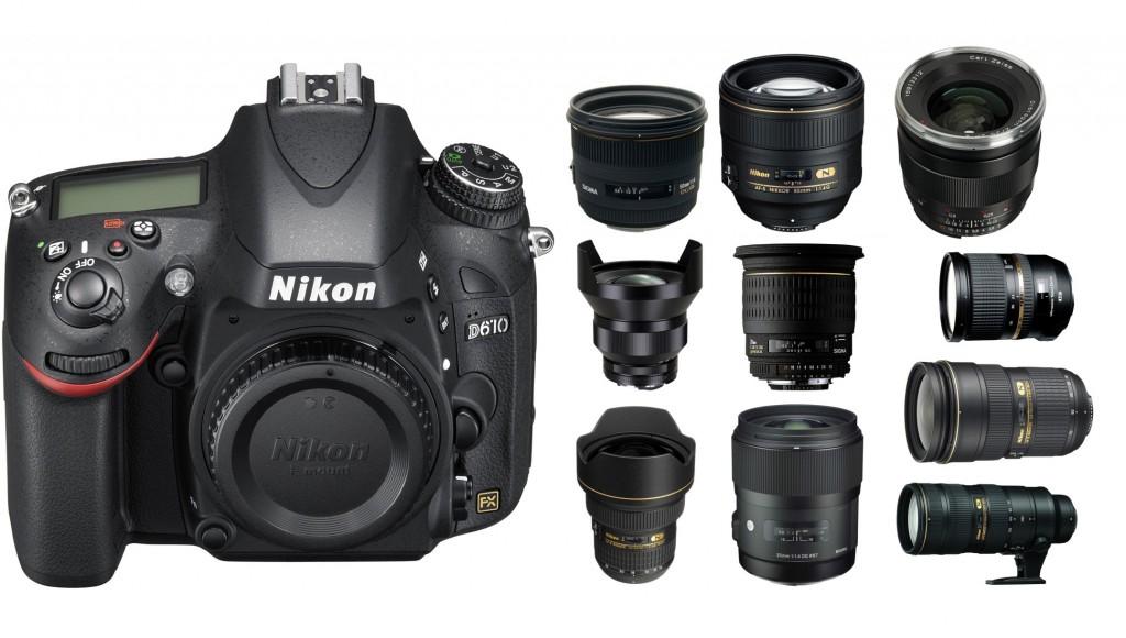 best-lenses-for-nikon-D610