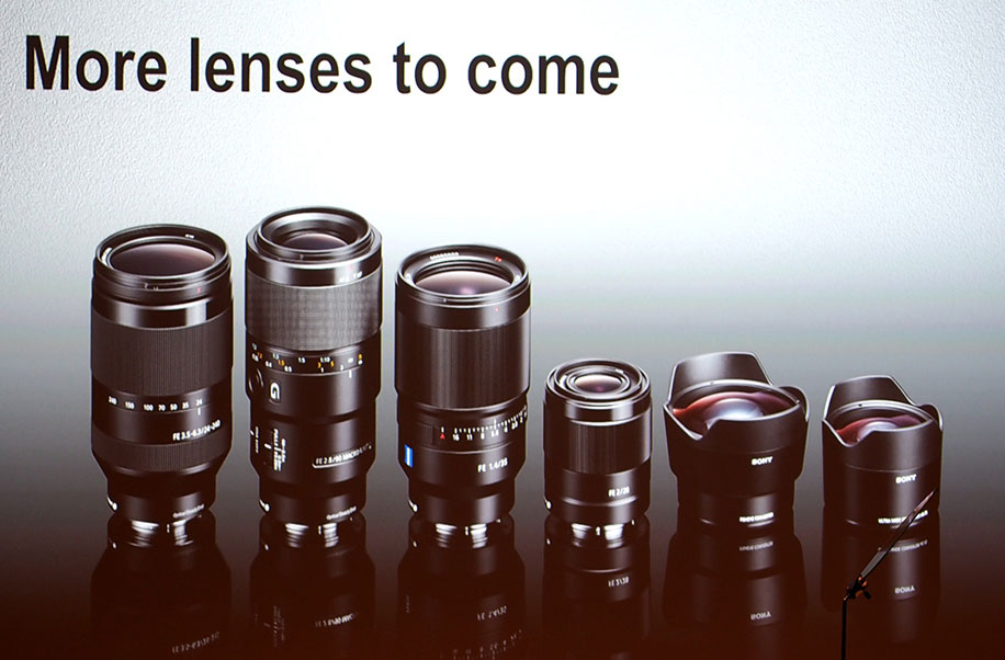 More lenses to come