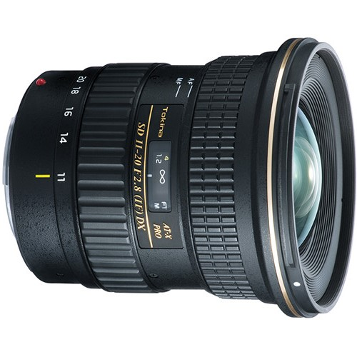 Tokina AT-X 11-20mm f2.8 PRO DX lens