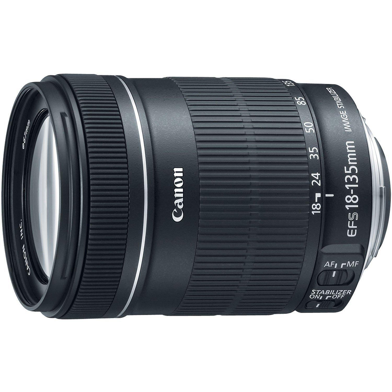 hot deals canon ef s 18 135mm f 3 5 5 6 is stm lens for. Black Bedroom Furniture Sets. Home Design Ideas