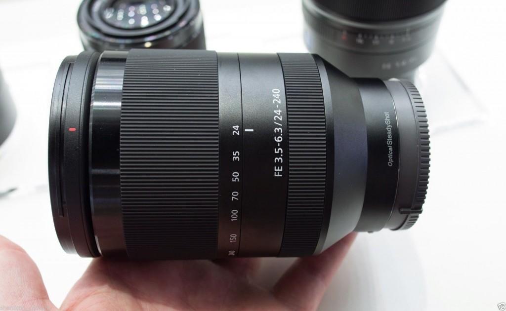 Sony FE lenses