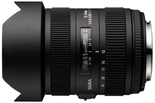 Sigma 12-24mm f4.5-5.6 DG II
