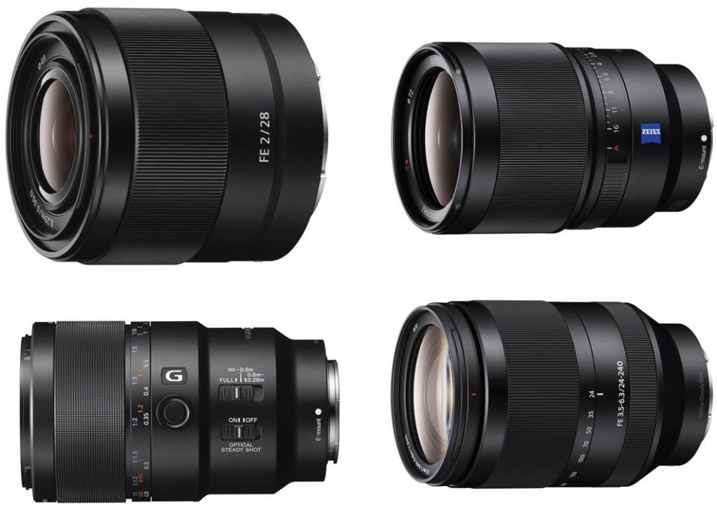 Sony-FE-lenses