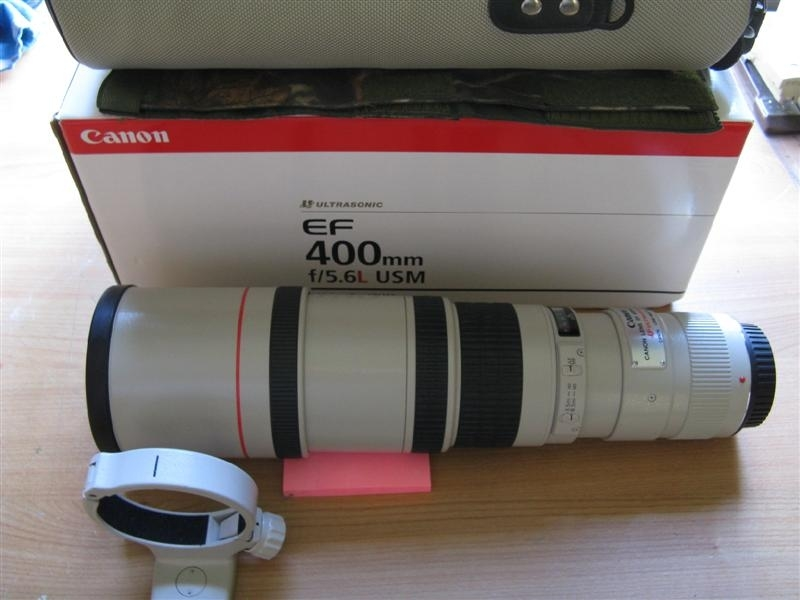 canon ef 400mm f5.6L usm lens