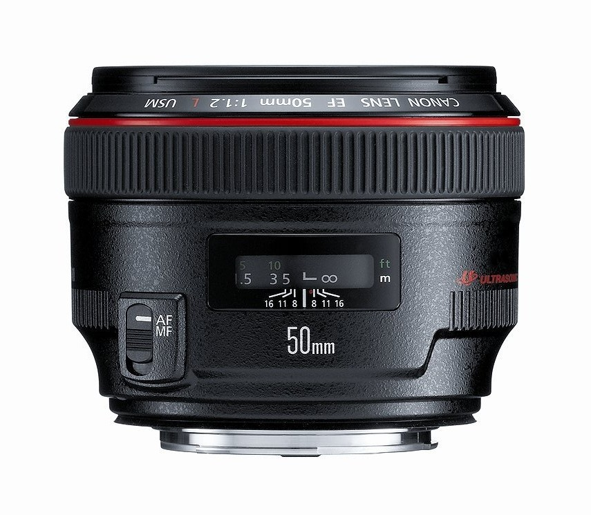 Canon EF 50mm F1.2 L lens