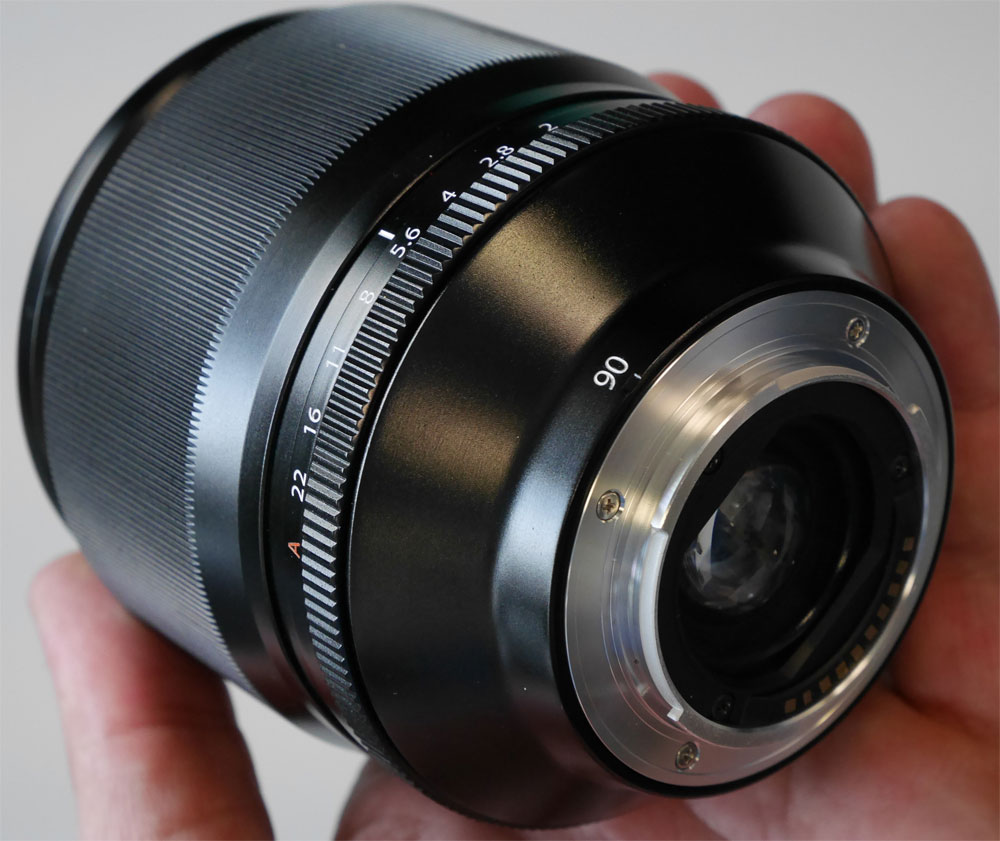 Fujifilm xf 90mm f2 lens