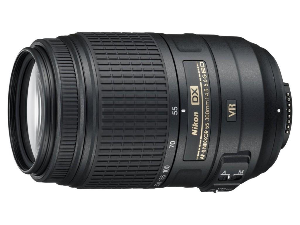 Nikon AF-S NIKKOR 55-300mm f4.5-5.6G ED VR Zoom Lens