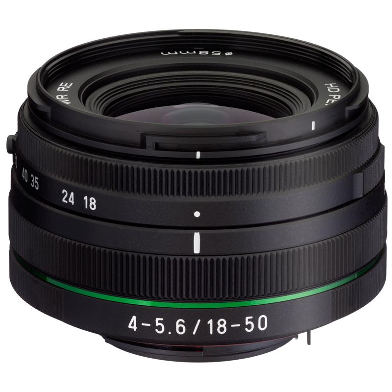 PENTAX DA 18-50mm F4-5.6 DC WR RE lens