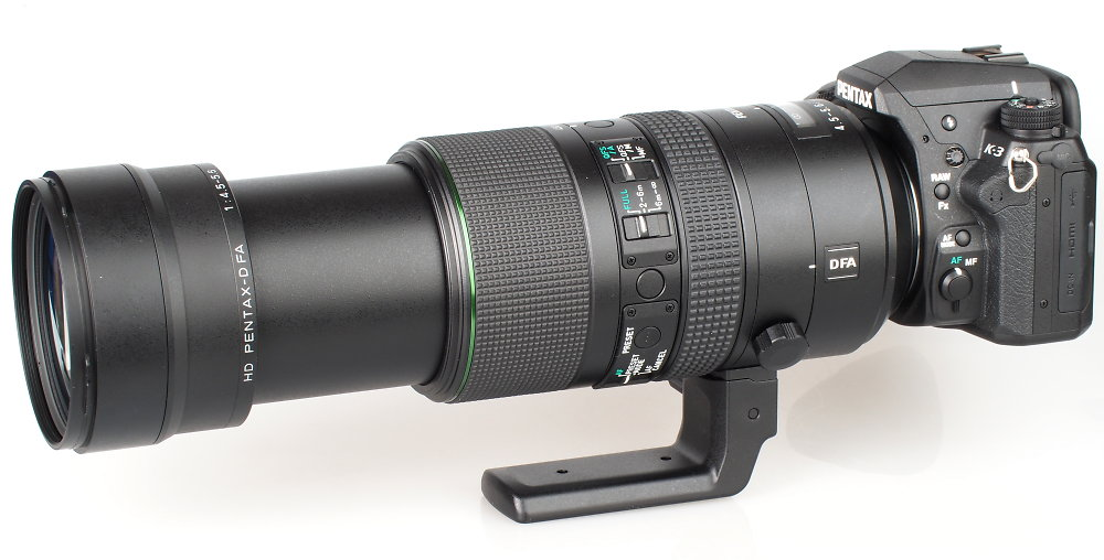 Review of PENTAX-D-FA-150-450mm lens