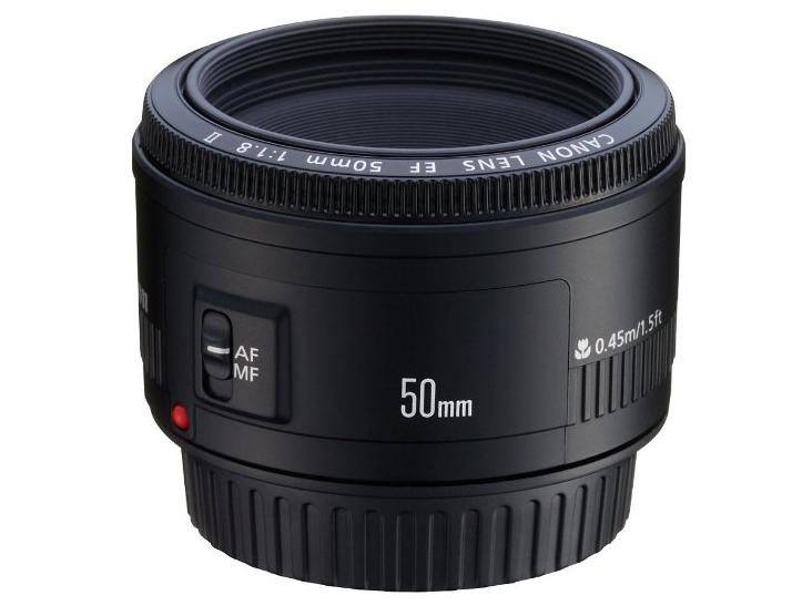 Canon-EF-50mm-F1.8-II-lens