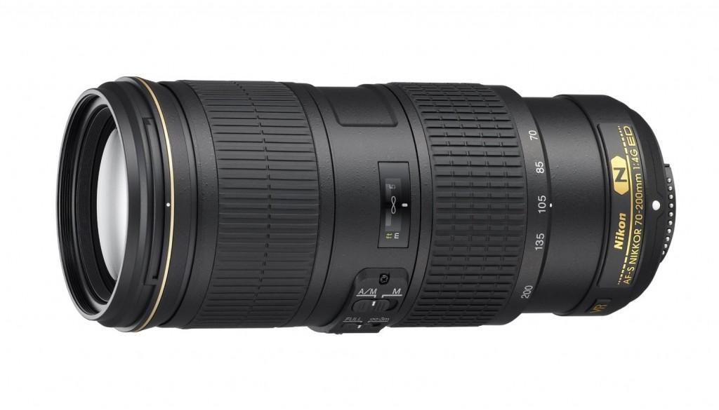 Nikon AF-S nikkor 70-200mm F4g lens