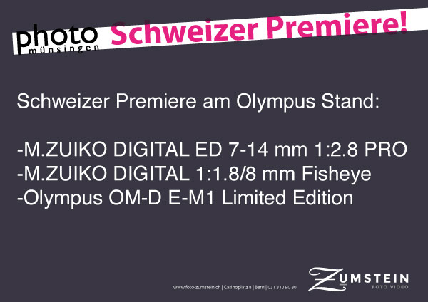 Olympus new products on May 12