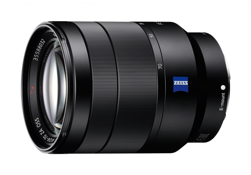 Hot Deal: Sony 24-70mm F4 Vario-Tessar T* FE OSS Lens for $999