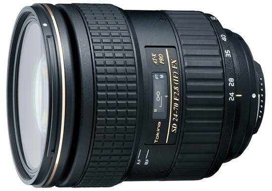 Tokina AT X 24-70mm f2.8 PRO FX lens