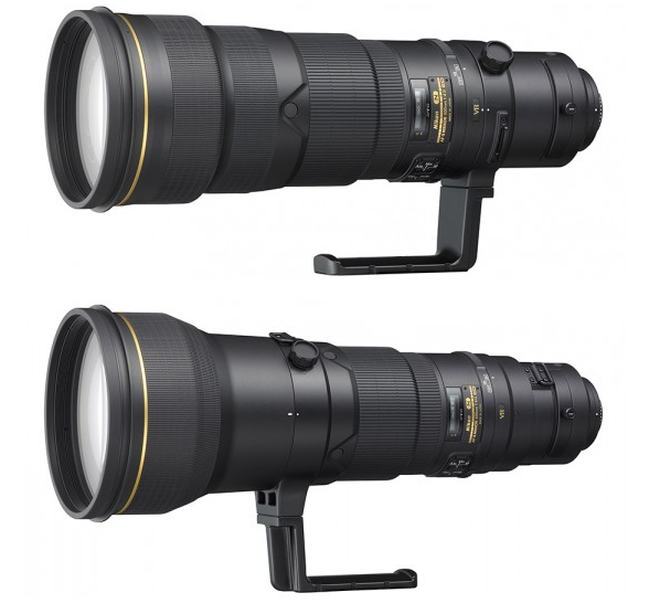 Nikon 500mm and 600mm F4G lenses