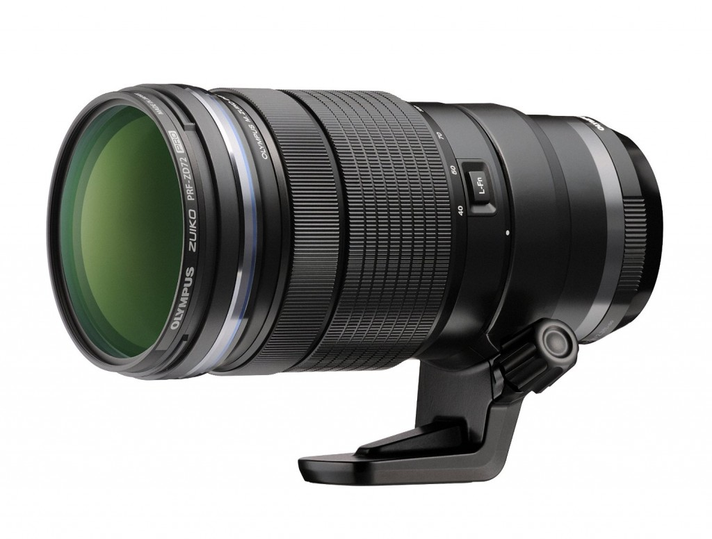the current Olympus M 40-150mm F2.8 PRO lens