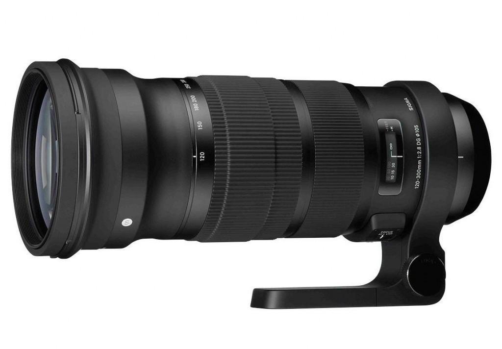 Sigma 120-300mm F2.8 DG lens