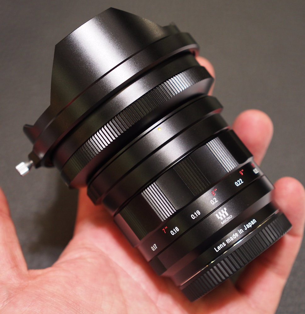 Nokton 10.5mm f0.95 lens review