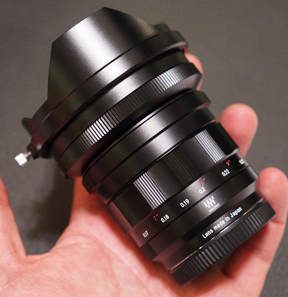 Nokton 10.5mm f0.95 lens review