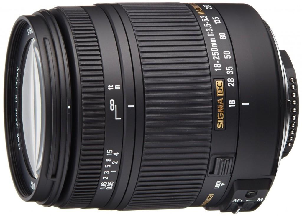 Sigma 18-250mm DC MACRO lens