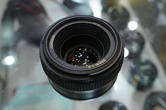 Yongnuo AF-S 50mm f1.8 lens image