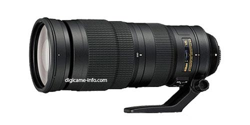 nikon 200-500mm E ED VR lens