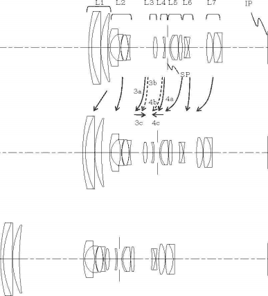 patent of canon 15-105 EF-S lens