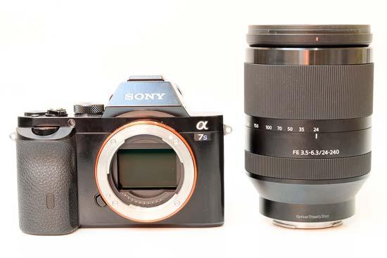 sony_fe_24_240mm_f_3_5_6_3_oss mounted on Sony A7s3