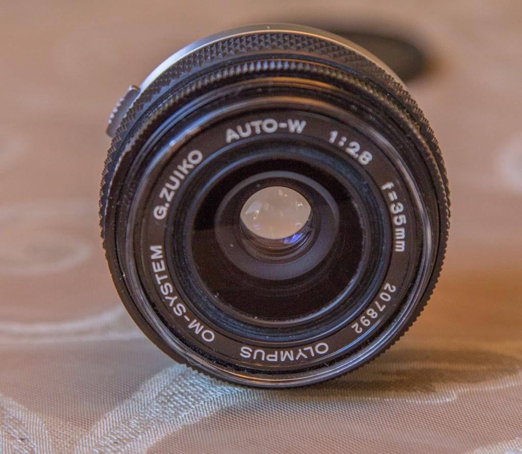Olympus Zuiko 35mm f2.8 lens