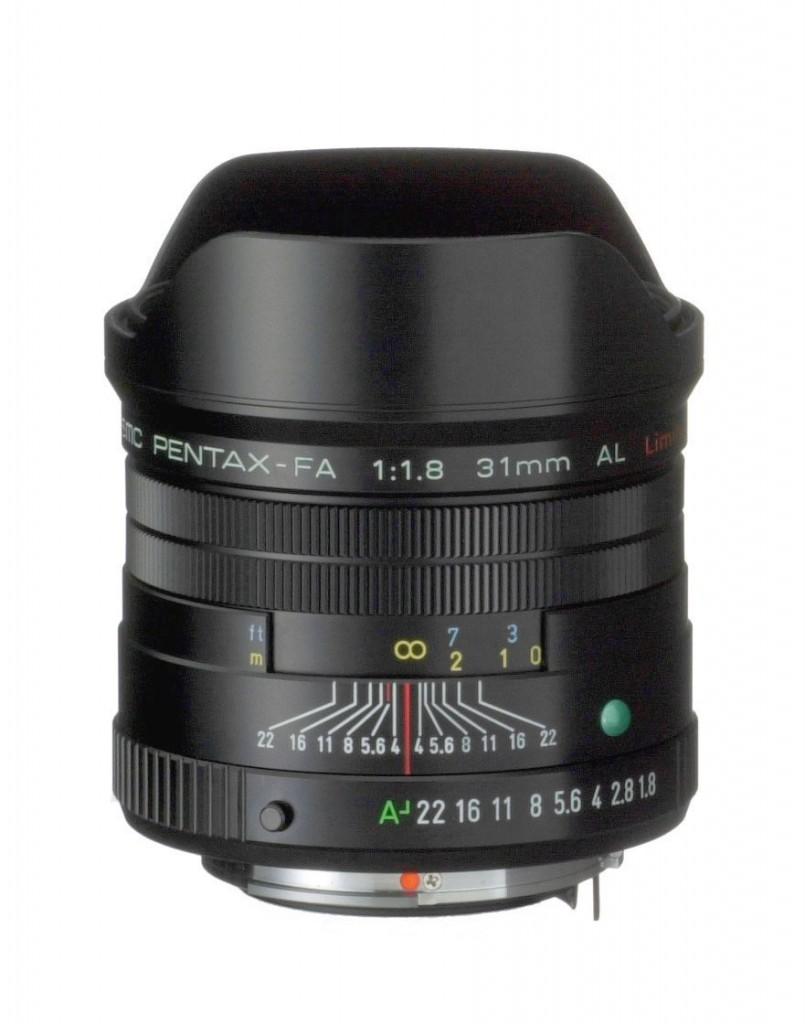 Pentax 31mm F1.8 lens