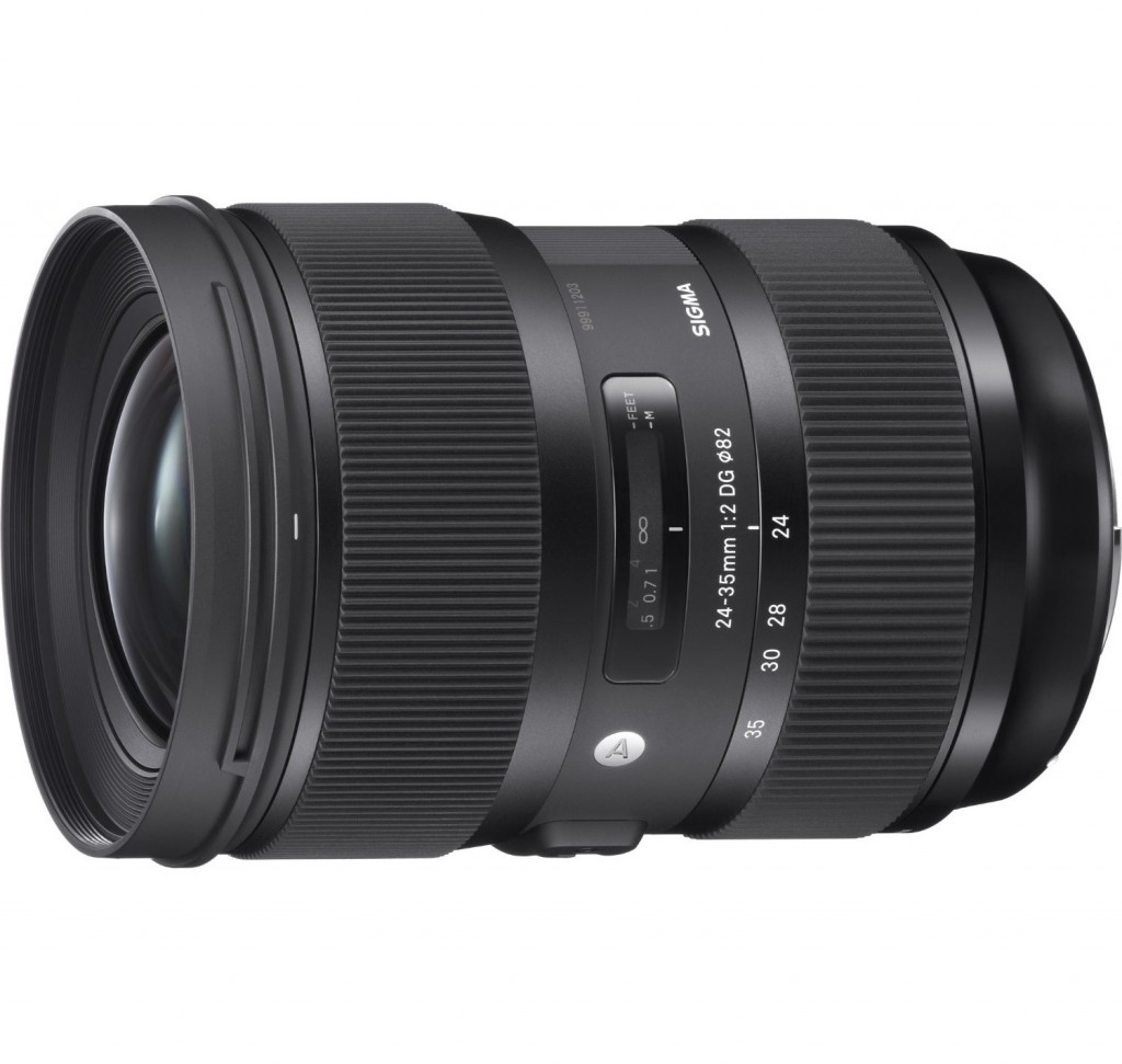 Sigma 24-35mm F2 art lens