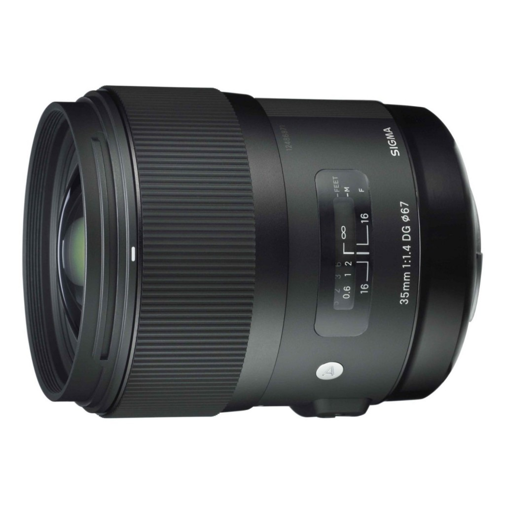 Sigma 35mm F1.4 DG Art lens