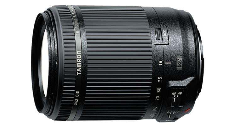 Tamron 18-200mm F3.5-6.3 lens