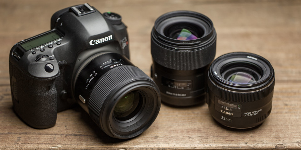 Canon eos 5ds R with tamron sp 35mm F1.8 lens