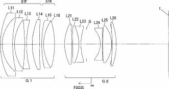 Nikon AF-S nikkor 28mm f1.8 VR patent