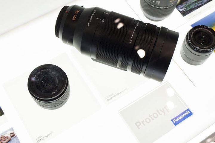 Panasonic Leica 100-400mm lens