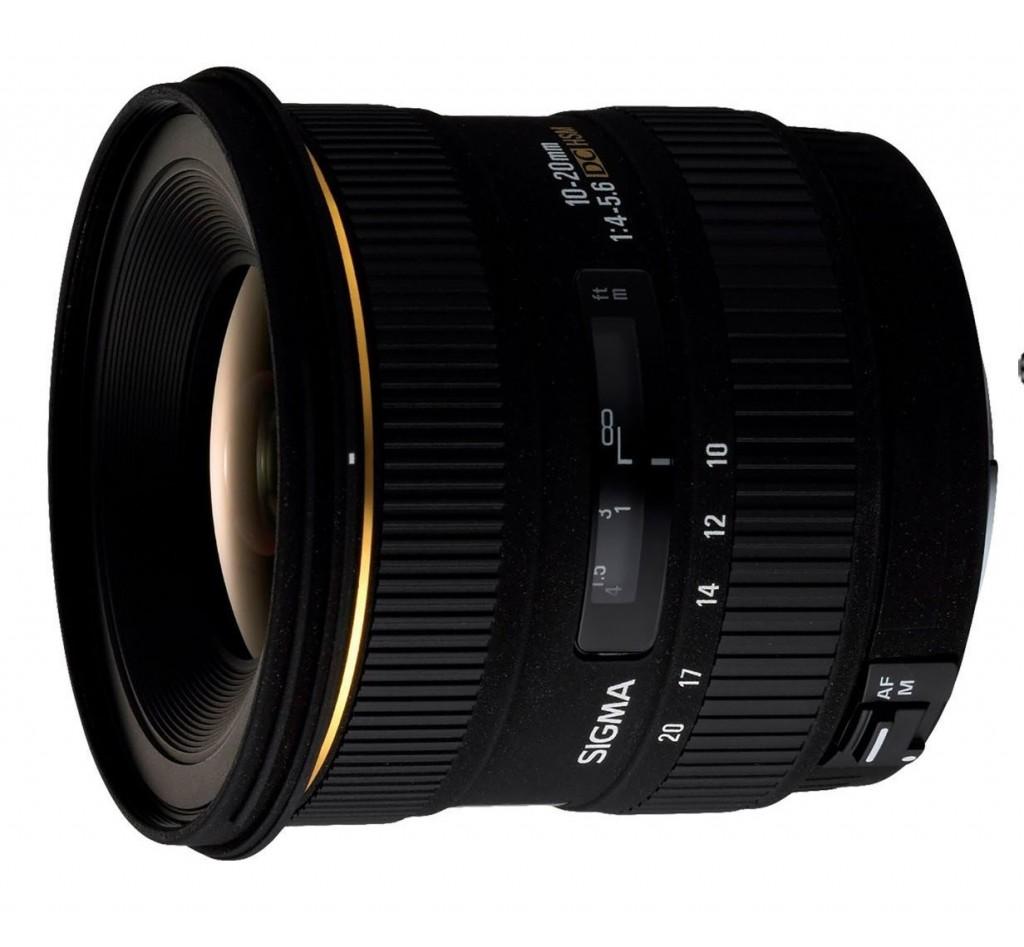 Sigma 10-20mm F4-5.6 EX DC HSM lens