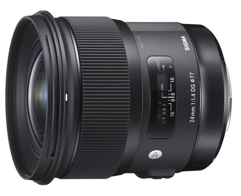 Sigma 24mm F1.4 DG HSM Art lens