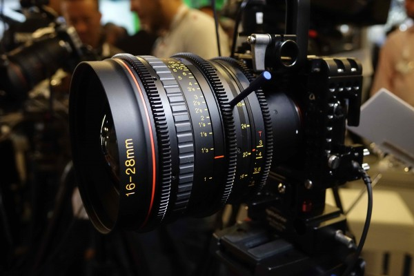 Tokina 16-28mm T3 lens
