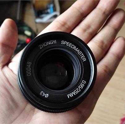 Zhongyi 25mm F0.95 lens