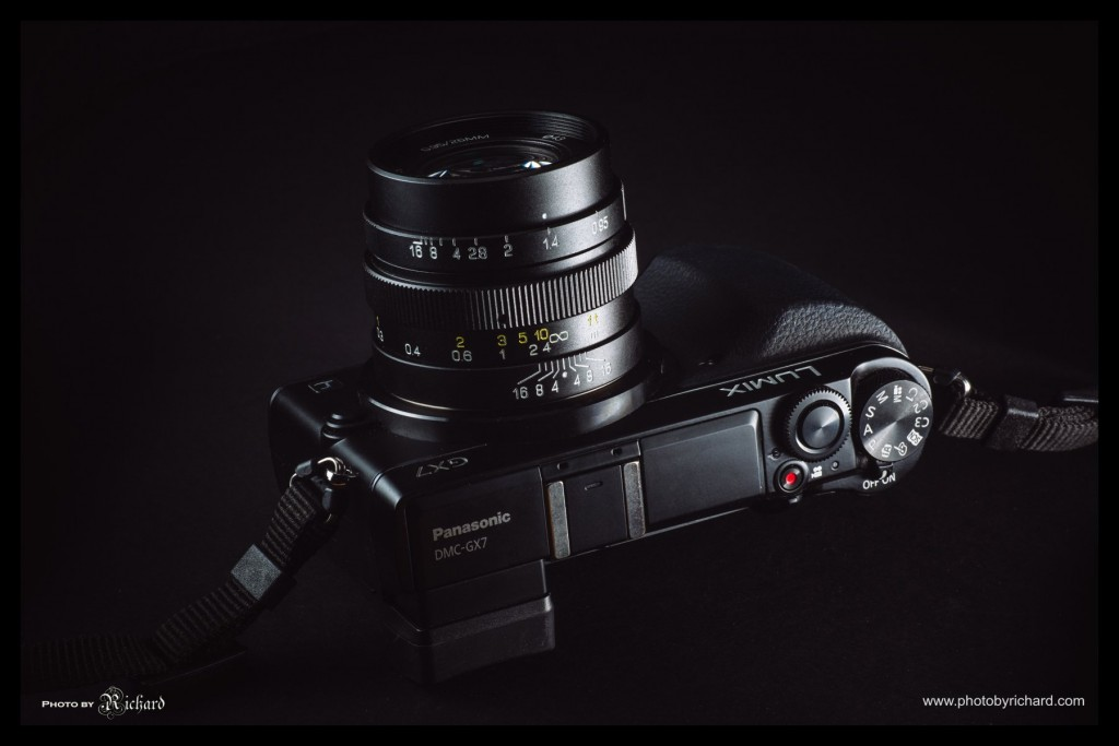 mitakon-speedmaster-25mm-f0.95lens with GX7