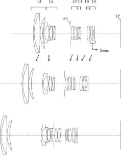 Canon 28-200mm F3.5-5.6 lens patent