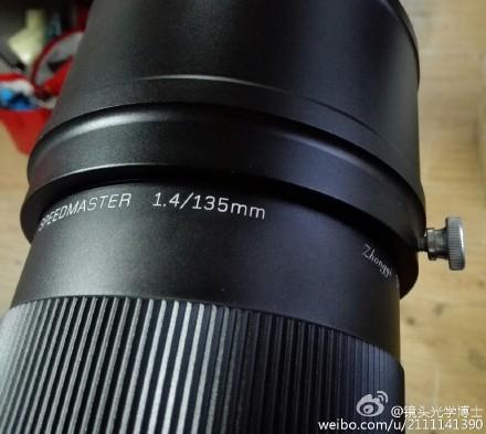 Mitakon 135mm f 1.4 lens image
